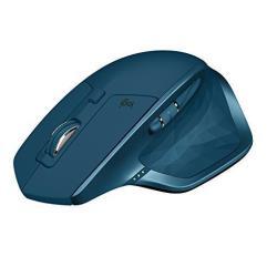 Logitech Mouse Mx master 2s - mouse - bluetooth, 2.4 ghz - viola scuro 910-005140