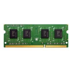 Qnap Memoria RAM Ddr3 - 4 gb - so dimm 204-pin - senza buffer ram-4gdr3-so-1600