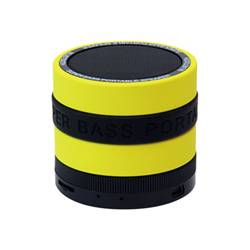 Conceptronic Speaker Wireless Bluetooth  CSPKBTSBY Giallo, Nero