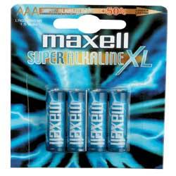 Maxell Pila alcalina Alkaline ace lr03 - batteria 4 x tipo aaa alcalina 723671