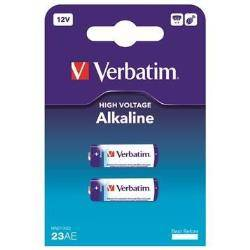 Verbatim Pila Batteria 2 x a23 alcalina 49939