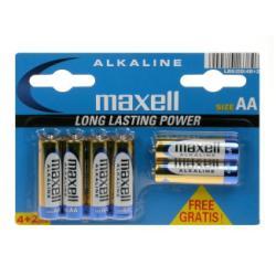 Maxell Pila alcalina Batteria 6 x tipo aa 790230.00.cn