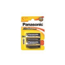 Panasonic Pila Blister 2 torce alkaline power c500020
