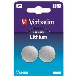 Verbatim Pila Batteria - 2 x cr2450 - li 49938