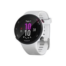 Garmin Smartwatch Forerunner 45S 39,5 mm Silicone Bianco