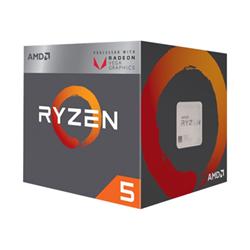 Amd Processore Gaming Ryzen 5 2400g / 3.6 ghz processore yd2400c5fbbox