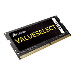 Corsair Memoria RAM Value select - ddr4 - 8 gb - so dimm 260-pin - senza buffer cmso8gx4m1a2133c15