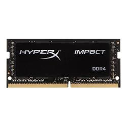 HyperX Memoria RAM Gaming Impact - ddr4 - 16 gb - so dimm 260-pin - senza buffer hx424s14ib/16
