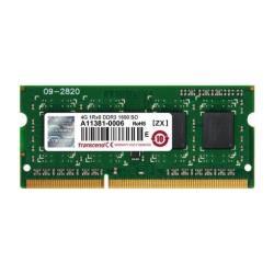 Transcend Memoria RAM Jetram - ddr3 - 4 gb - so dimm 204-pin - senza buffer jm1600ksh-4g