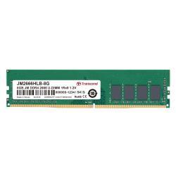 Transcend Memoria RAM Jetram - ddr4 - 8 gb - dimm 288-pin - senza buffer jm2666hlb-8g