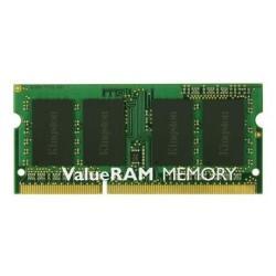 Kingston Memoria RAM Valueram - ddr3 - 4 gb - so dimm 204-pin - senza buffer kvr16s11s8/4