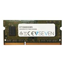 V7 Memoria RAM Ddr3 - module - 2 gb - so dimm 204-pin - senza buffer 106002gbs