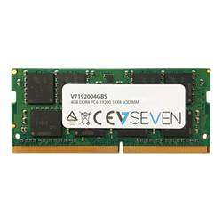 V7 Memoria RAM Ddr4 - module - 4 gb - so dimm 260-pin - senza buffer 192004gbs