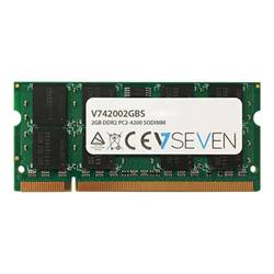 V7 Memoria RAM Ddr2 - module - 2 gb - so dimm 200-pin - senza buffer 42002gbs