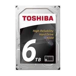 Toshiba Hard disk interno N300 nas - hdd - 6 tb - sata 6gb/s hdwn160uzsva