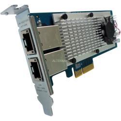 Qnap Adattatore di rete lan-10g2t-x550