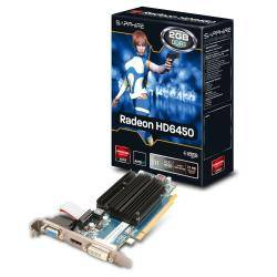 Sapphire Scheda video Radeon hd 6450 - scheda grafica - radeon hd 6450 - 2 gb 11190-09-20g