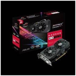 Asus Scheda video Rog-strix-rx560-o4g-gaming - oc edition - scheda grafica 90yv0ah0-m0na00