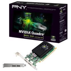 PNY Scheda video Nvs 310 by  - scheda grafica - nvs 310 - 1 gb vcnvs310dp-1gb-pb