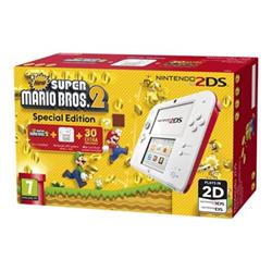 Nintendo Console 2DS Bianco Rosso + New Super Mario Bros 2