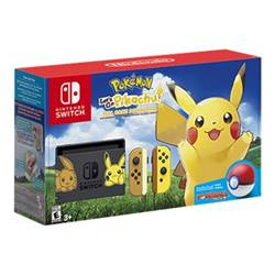 Nintendo Console Switch + Pokemon let's go Eevee + Pokeball