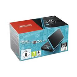Nintendo Console 2DS XL Nero Turchese