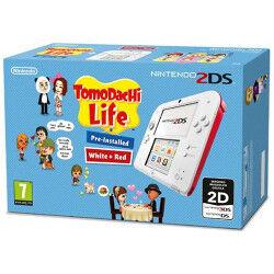 Nintendo Console 2DS Bianco Rosso + Tomodachi Life