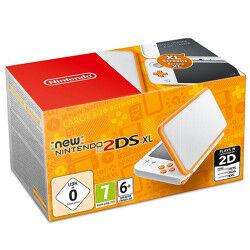 Nintendo Console New 2DS XL 4.88'' Touch screen Wi-Fi Arancione, Bianco console da gioco portatile