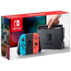 Nintendo Console Switch Joy-Con Neon Rosso e Blu