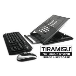 Hamlet Kit tastiera mouse Tiramisu wireless kit - set mouse e tastiera xtms100kmw