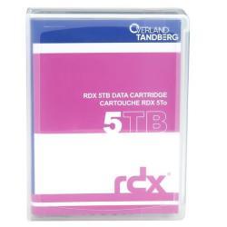 Tandberg Supporto storage Overland  - rdx x 1 - 5 tb - supporti di memorizzazione 8862-rdx