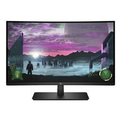 HP Monitor LED 27x - monitor a led - curvato - full hd (1080p) - 27'' 1at01aa