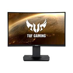 Asus Monitor LED Tuf gaming vg24vq - monitor a led - curvato - full hd (1080p) 90lm0570-b01170
