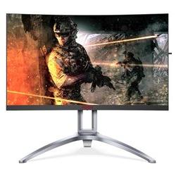 AOC Monitor LED Gaming - agon series - monitor a led - curvato - 27'' ag273qcx
