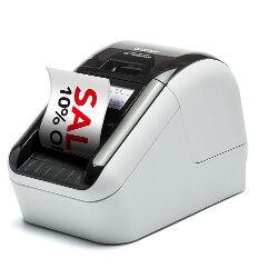 Brother Etichettatrice Ql-820nwb - stampante per etichette - due colori (monocromatico) ql820nwb