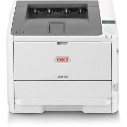 Oki Stampante laser B512dn - stampante - b/n - led 45762022