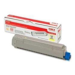 Oki Toner Giallo - originale - cartuccia toner 43487709