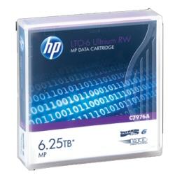 Hewlett Packard Enterprise Supporto storage Hpe rw data cartridge - lto ultrium 6 x 20 - 2.5 tb c7976an