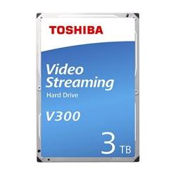 Toshiba Hard disk interno V300 video streaming - hdd - 2 tb - sata 6gb/s hdwu120uzsva