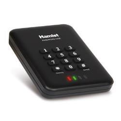 Hamlet Hard disk esterno Password disk - hdd - 500 gb - usb 3.0 hexd25u3kk5