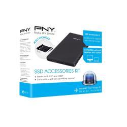 PNY Box hard disk esterno Ssd accessories kit - box esterno - usb 3.0 p-91008663-e-kit