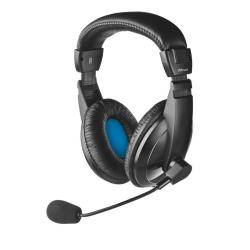 trust cuffie con microfono quasar headset for pc and laptop