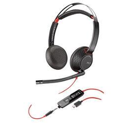 Plantronics Cuffie con microfono Blackwire C5220 USB-C WW