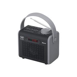 Trevi Radiosveglia Qube dr 752 bt - radio personale 0dr75200
