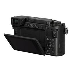 Panasonic Fotocamera Lumix g dc-gx9h - fotocamera digitale lente 14-140mm dc-gx9heg-k