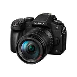 Panasonic Fotocamera Lumix g dmc-g80h - fotocamera digitale lente 14-140mm dmc-g80heg-k