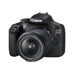 Canon Fotocamera reflex Eos 2000d - fotocamera digitale obiettivo ef-s 18-55 mm iii 2728c002