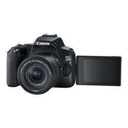Canon Fotocamera reflex Eos 250d - fotocamera digitale lente ef-s is stm da 18-55 mm 3454c002