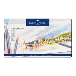 Faber Castell Faber-castell goldfaber aqua - matita acquerellabile (pacchetto di 36) 114636