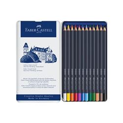 Faber Castell Faber-castell goldfaber - pastello colorato (pacchetto di 12) 114712